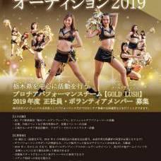 プロチアダンスチーム「GOLD LUSH」正社員オーディションのサムネイル画像1