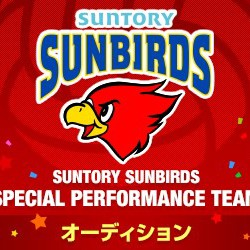 SUNTORY SUNBIRDS SPECIAL PERFORMANCE TEAMオーディションのサムネイル画像1