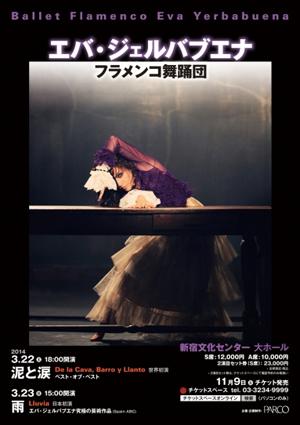 Ballet Flamenco Eva Yerbabuena エバ・ジェルバブエナ フラメンコ舞踊団のサムネイル画像1