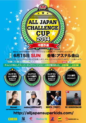 ALL JAPAN CHALLENGE CUP 2014 中部予選のサムネイル画像1