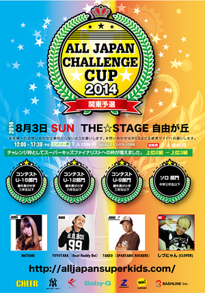 ALL JAPAN CHALLENGE CUP 2014 関東予選のサムネイル画像1