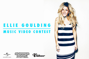 ELLIE GOULDING MUSIC VIDEO CONTEST  応募期間 6 /27 (金)15:00〜7 /27 (日)23:59のサムネイル画像1