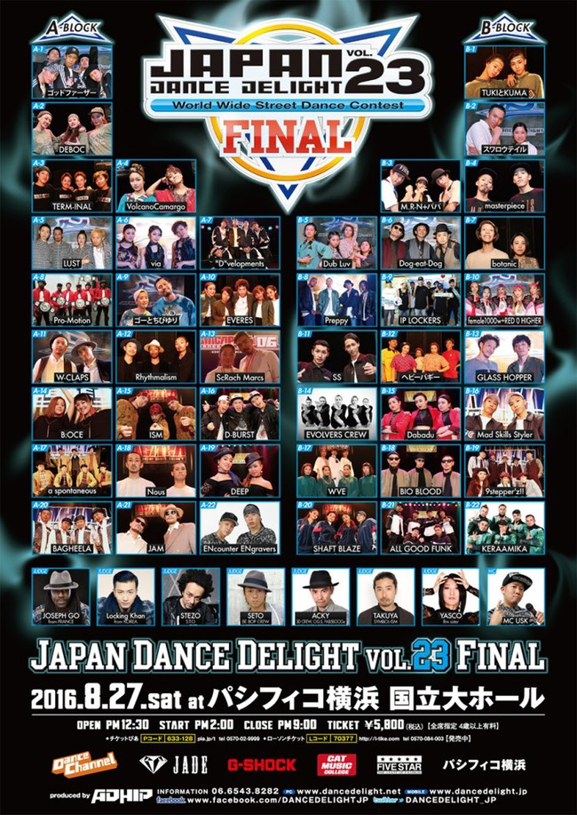 JAPAN DANCE DELIGHT VOL.23 FINALのサムネイル画像1