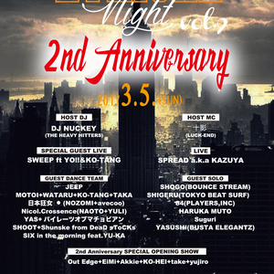 LYRICAL NIGHT Vol.9 ~2nd Anniversary~のサムネイル画像1