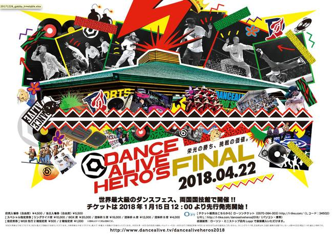 DANCE ALIVE HERO'S FINALのサムネイル画像1