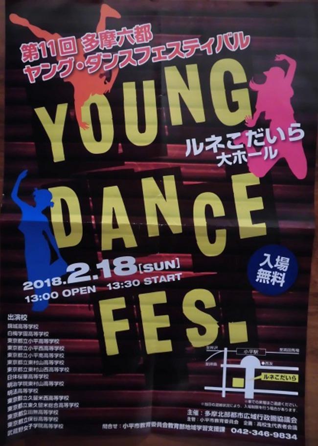 第11回多摩六都ヤング・ダンスフェスティバルのサムネイル画像1