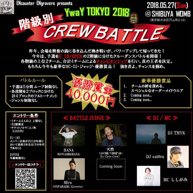 ENcounter ENgravers presents 【YWAY TOKYO 2018】のサムネイル画像1