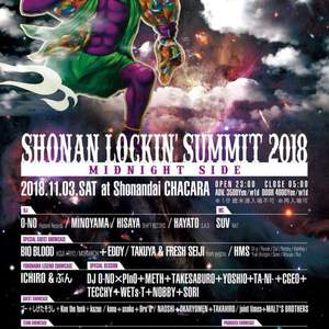 SHONAN LOCKIN' SUMMIT 2018 --MIDNIGHT SIDE--のサムネイル画像1
