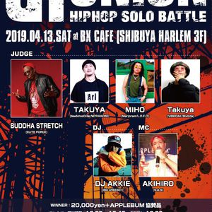 【UNION】 HIPHOP SOLO BATTLEのサムネイル画像1
