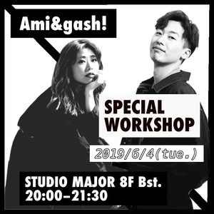 ◆Ami+gash! SPECIAL WORKSHOP◆のサムネイル画像1
