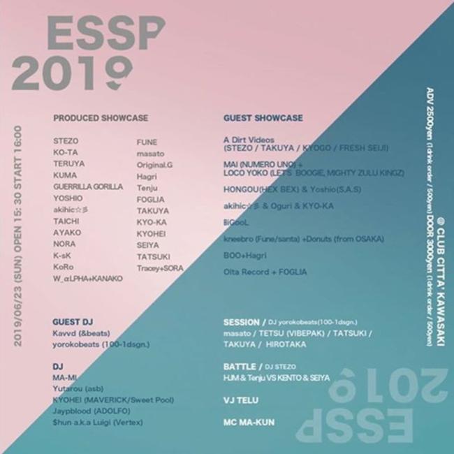 ESSP 2019のサムネイル画像1
