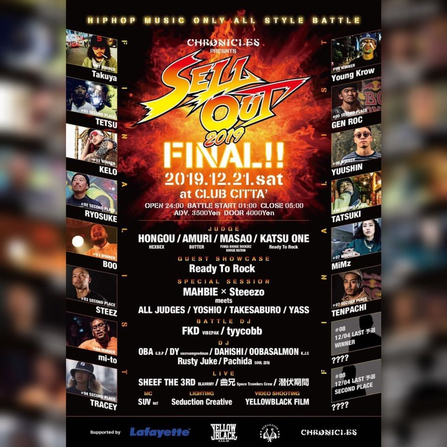SELL OUT FINAL‼︎のサムネイル画像1