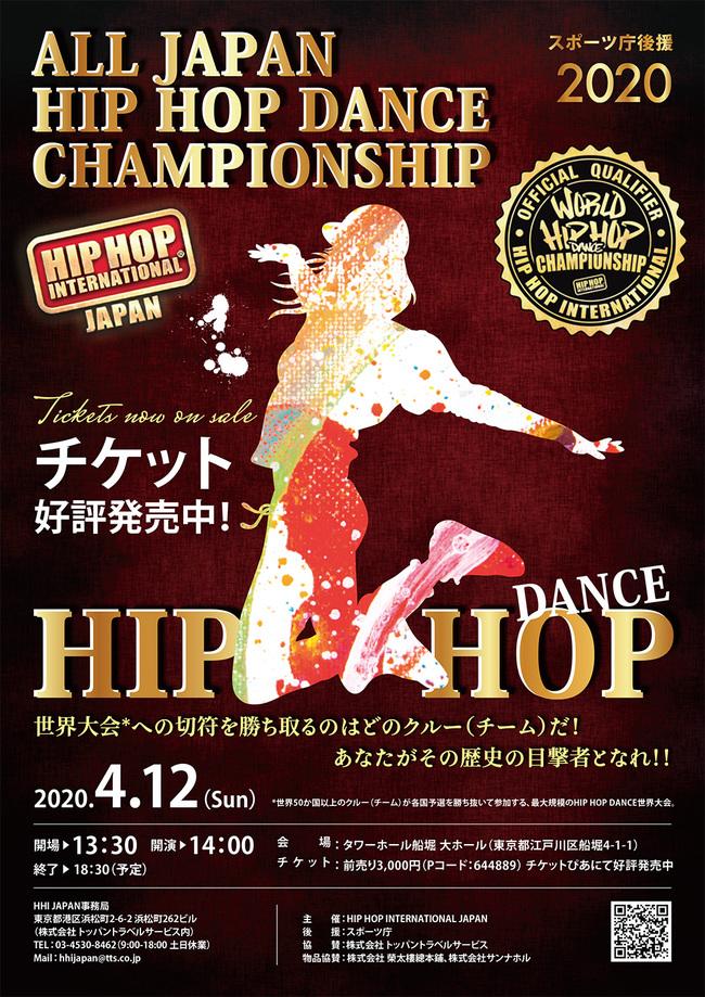 ALL JAPAN HIP HOP DANCE CHAMPIONSHIPのサムネイル画像1
