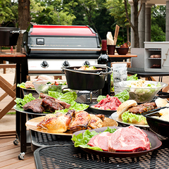 ダンめし 06:BBQ -VILLAGE(京王多摩川)・グッドモーニングカフェ(GMC)中野セントラルパーク(中野)イメージ