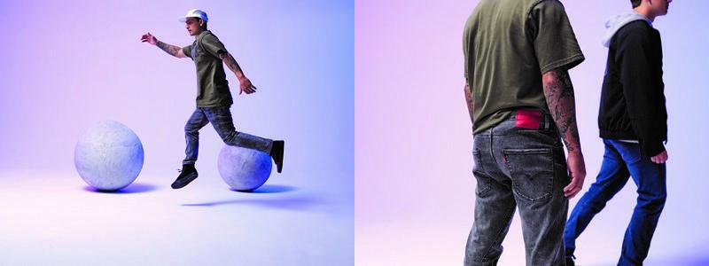 +Levi's® Energy 身体の熱をリサイクルしエネルギーを増やすジーンズが登場のメイン画像