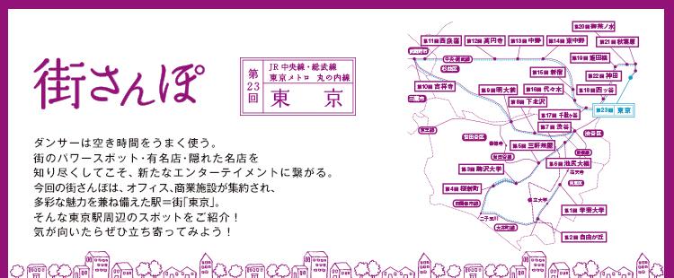 街さんぽ第23回 東京駅