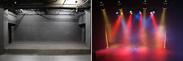 worsal rental studio Theater画像1