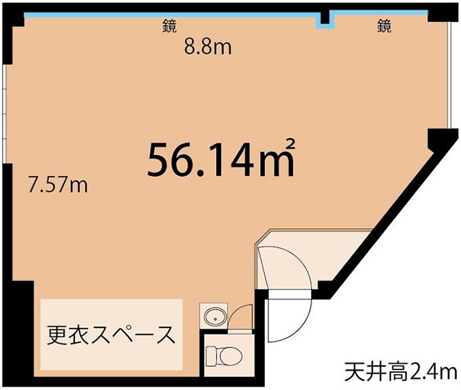 六本木フォルトゥーナスタジオ画像5
