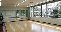 千葉市幕張勤労市民プラザ 視聴覚室(ダンスルーム)